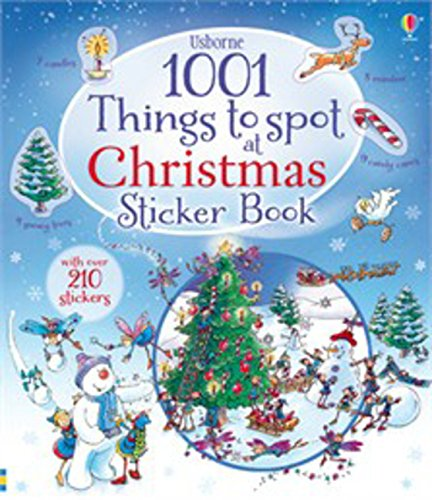 1001 Things to Spot at Christmas Sticker Book por Alex Frith