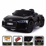 Voiture de sport électrique 12V pour enfant Audi R8 Spyder Cristom -Télécommande...