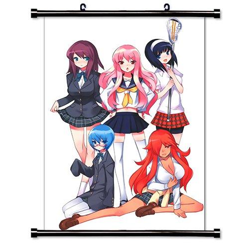 Familiar of Zero F (Zero no Tsukaima) Anime Fabric Wall Scroll Poster (32 x 46) Inches