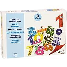 Cayro - Kids números magnéticos, 60 piezas (875.0)