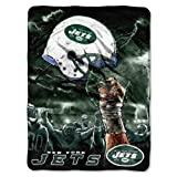 Northwest New York Jets Sky Helmet NFL Blanket