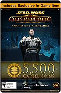 STAR WARS: The Old Republic - 5500 pièces du cartel + un objet exclusif [code jeu en ligne]