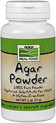 NOW Foods Agar Powder, Pure, 2 Ounce Bottle