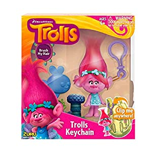 Boti 34234 - Llavero Dream Works Trolls Poppy, 10 cm