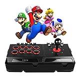 JFUNE Reale Arcade Pro Fight Stick Joystick per Nintendo Switch / PS4 / PS3 / Android / PC, E-sport Gioco Rocker Street Arcade Fighter