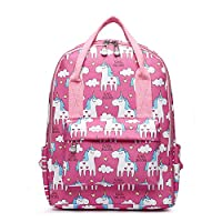 Little Unicorn Kids Toddlers Girls Light Weight Water Proof School Backpack Nursery Bag