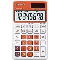 CASIO SL-300NC-RG calcolatrice tascabile - Display a 8 cifre, struttura di colore bianco/arancione - Confronta prezzi