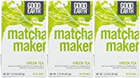 Good Earth Super Green Tea, Matcha, Sencha & Orange, Tea Bags, 18 ct, 3 pk