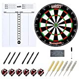 ONE80 Gladiator Dartboard with Compeletly Staple Free Wire for Maximum Scoring Potential