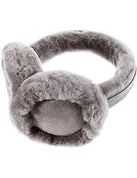 Ohrenschützer aus Wolle, kuscheliger Ohrwärmer für Damen und Herren, ein tolles Weihnachtsgeschenk für Ihren Freunden und Ihren Familien
