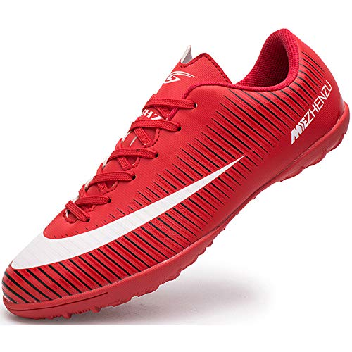 Ikeyo Zapatillas de Fútbol Hombre Profesionales Botas de Fútbol Aire Libre Atletismo Zapatos de Entrenamiento...