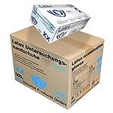 SFM ® BIOLIMES Latex : XS, S, M, L, XL weiß gepudert glatt Einweghandschuhe Einmalhandschuhe Untersuchungshandschuhe Latexhandschuhe M (1000)