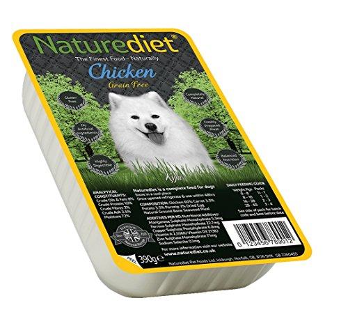 Diet Nature naturediet Welpenfutter Tablett Hundefutter, 390g, 18Stück