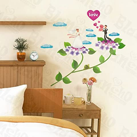 Newlywed-Wall Stickers Autocollants Appliques