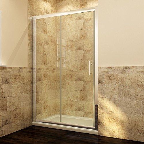 Duschabtrennung Schiebetür aus Glas