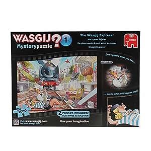 Jumbo 19103 Wasgij Mystery Puzzle No.1 - The Wasgij Express! 2 x 1000 Piece