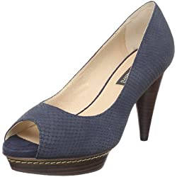 Pilar Abril Elda 08770, Damen, Pumps, Blau (Navy 05), EU 39