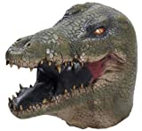 Alligator Costume Latex Mask Adult One Size