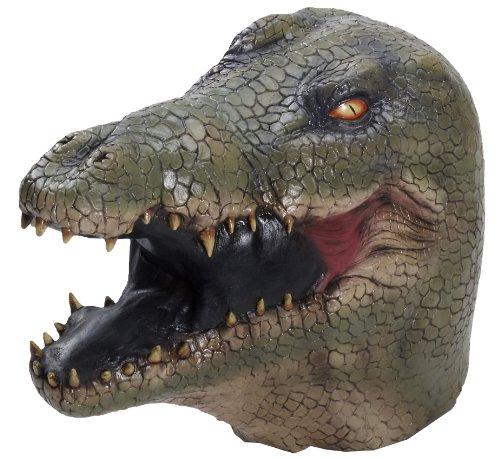Latex-Maske Alligator (Maske Alligator)