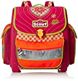Scout Schulranzen-Set Basic Buddy Set 1 5 tlg Pink Heart 97 cm Pink 72500778700