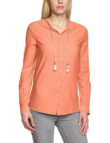 Scotch & Soda Maison - Blouse - Manches Longues Femme -  Orange Orange (Papaya)