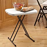 Lifetime 80251 2 ft (0.66 m) Personal Folding Table - White