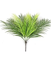 Fourwalls Beautiful Artificial Areca Palm Plant Without Vase (21 Leaves, 75 cm Tall, Green)