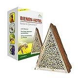 Gardigo Hôtel d'abeille Hôtel à insectes abeille, rucher pour nicher et l'hivernage! Protection végétale naturelle