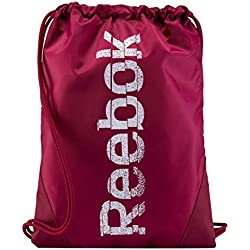 Reebok Se Gymsack - Mochila de Cuerdas, Color Rojo, Talla única
