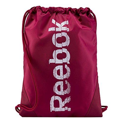 Reebok Unisex Sport Essentials Gymsack Sporttaschen dunkelrot