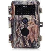 BlazeVideo 16MP HD Wilkamera für Jagd Tier Sicherheit usw, Außenüberwachung Sensorgesteuert, IP66 Wasserdicht, IR und PIR Nachtsicht über 38-TLG Infrarot-LED bis zu 20M Videoaufnahmen