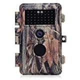 BlazeVideo 16MP HD Wild- und Naturbeobachtungs-Kamera für Jagd, mobile Außenüberwachung Sensorgesteuert,IP66 Wasserdicht Nachtsicht über 38-zellige Infrarot-LED bis zu 20M Videoaufnahmen Schnappschüsse