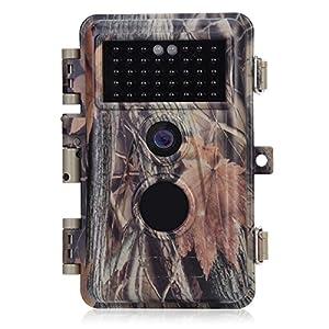 camarita wifi: BlazeVideo Cámara de Caza, Detector de Movimiento, F2.0 Camara de Video de Segui...