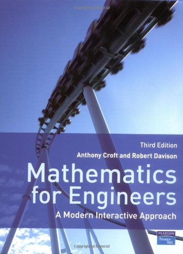 Mathematics for Engineers: A Modern Interactive Approach with MyMathLab