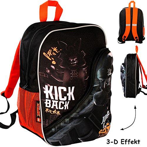 3-D Effekt _ Kinder Rucksack -