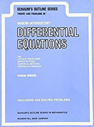Schaum's Outline of Theory and Problems of Modern Introductory Differential Equations (Schaum's Outline Series) by Richard Bronson