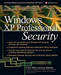 Windows(R) XP Professional Security (Networking Series)