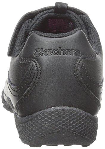 Skechers - Breathe-easyfab Phonics, Sneaker basse Bambina Nero (Nero (Blk))