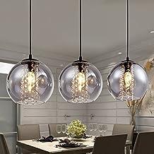 bola de cristal moderna lmpara de techo de cristal bar cocina iluminacin