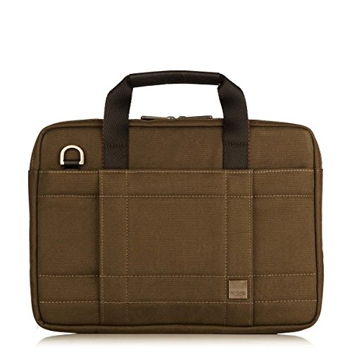 knomo-brixton-lincoln-13-water-resistant-canvas-slim-laptop-briefcase-olive-natural-with-shoulder-st