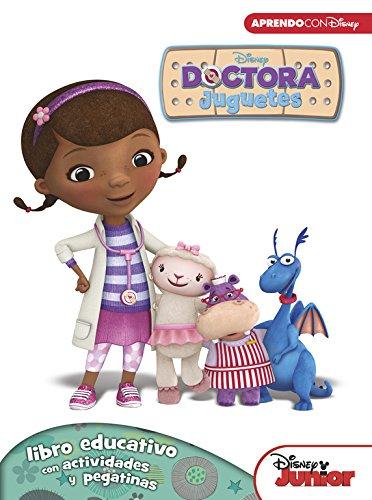 Doctora Juguetes. Libro Educativo Disney Con Actividades Y Pegatinas