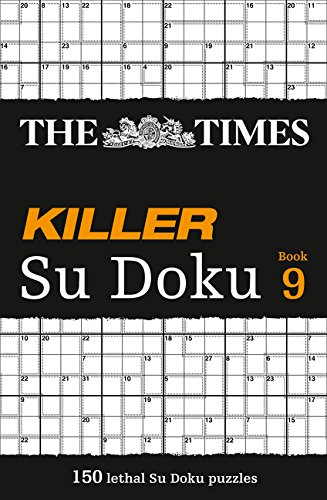 The Times Killer Su Doku Book 9 por The Times Mind Games