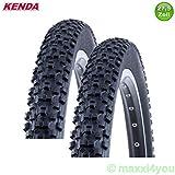 01022702 2 x Kenda Kadre K-1027 MTB Fahrradmantel Reifen Decke 27,5 x 2,10 - 52-584