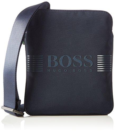 BOSS Green Pixel_S zip env 10180620 01 50311753 Herren Schultertaschen 20x24x1 cm (B x H x T), Blau (410)