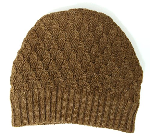 Krystle Men's Sports Woollen winter Skull Cap Brown  available at amazon for Rs.275