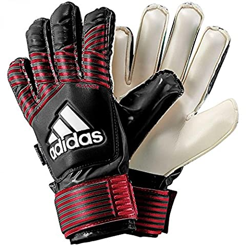 adidas Kinder Ace FS Junior Torwarthandschuhe, Black/Fcb True Red/White, 6
