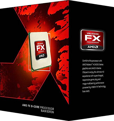 AMD FX8320 Black Edition 8 Core 4.0GHz Socket AM3+