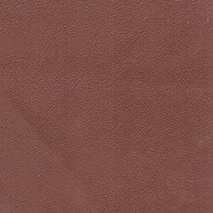 Tissu simili cuir souple vendu au mètre/ Marron - Avenue des Tissus