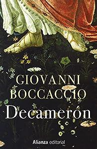 El Decamerón par  Giovanni Boccaccio