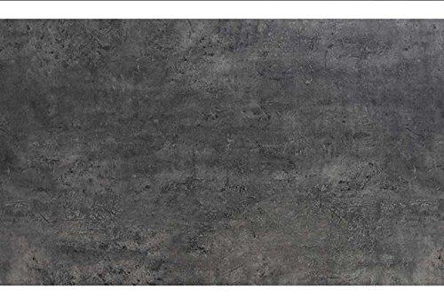 Diamond Garden Belmont Tischplatte f. Tischgestell San Marino Beton Dunkel Abmessungen: 100 x 100 cm Höhe Tischplatte: 13 mm Tischplattendekor: Beton Dunkel